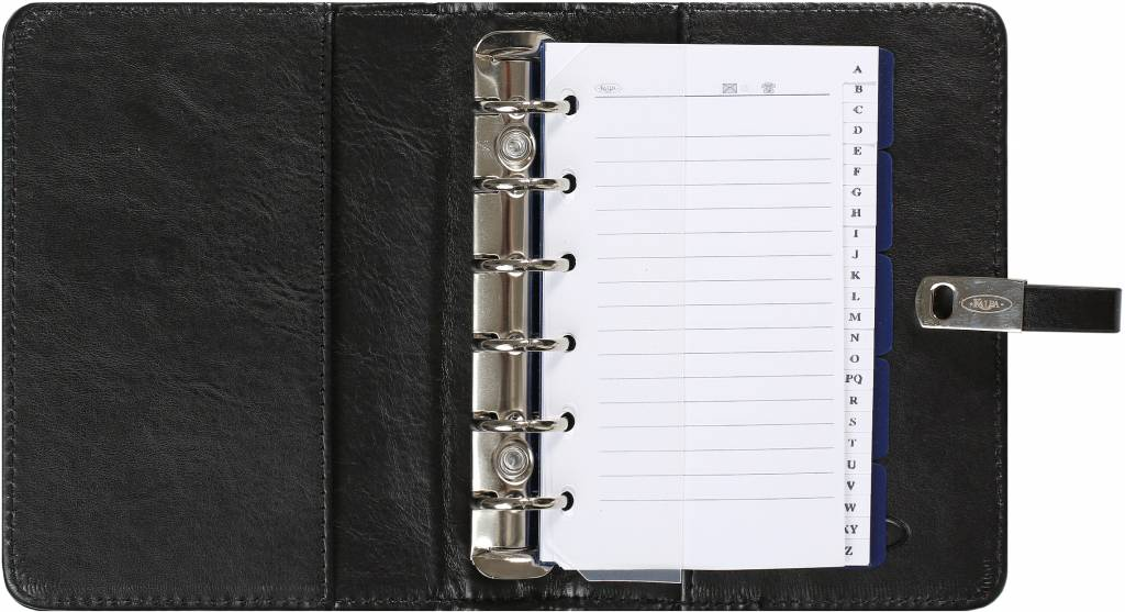 Kalpa 1311-60 Kalpa pocket organiser pullup black + free agenda