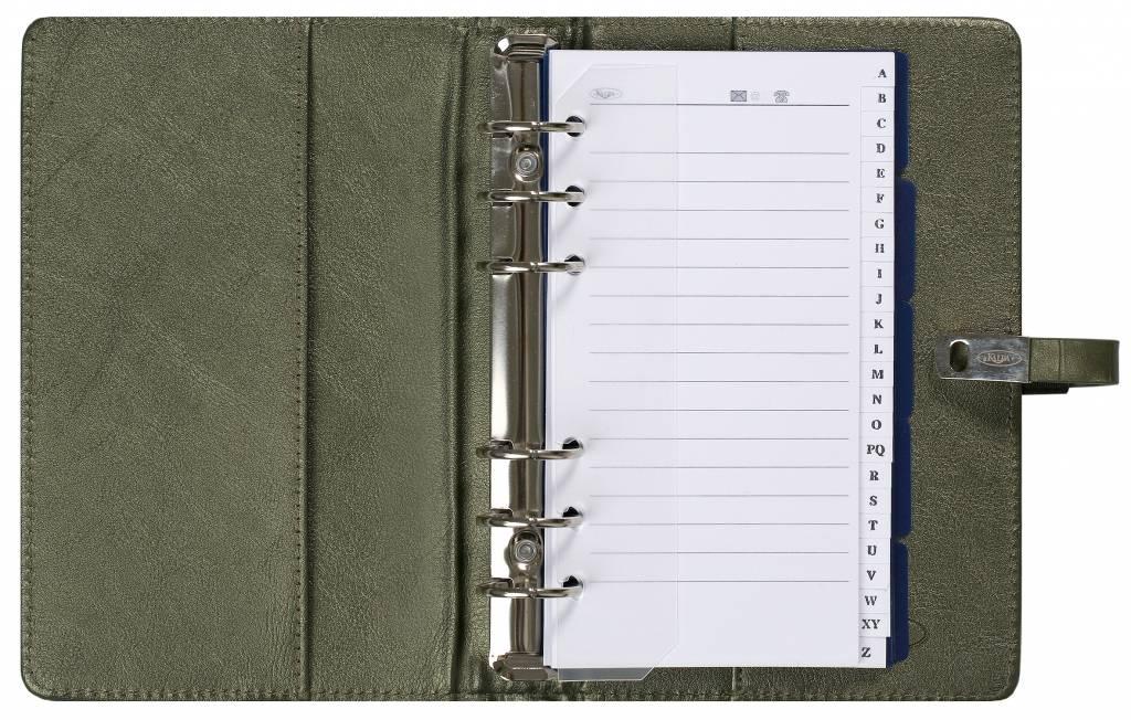 Kalpa 1111-66 Kalpa personal organiser croco mossgreen + free agenda
