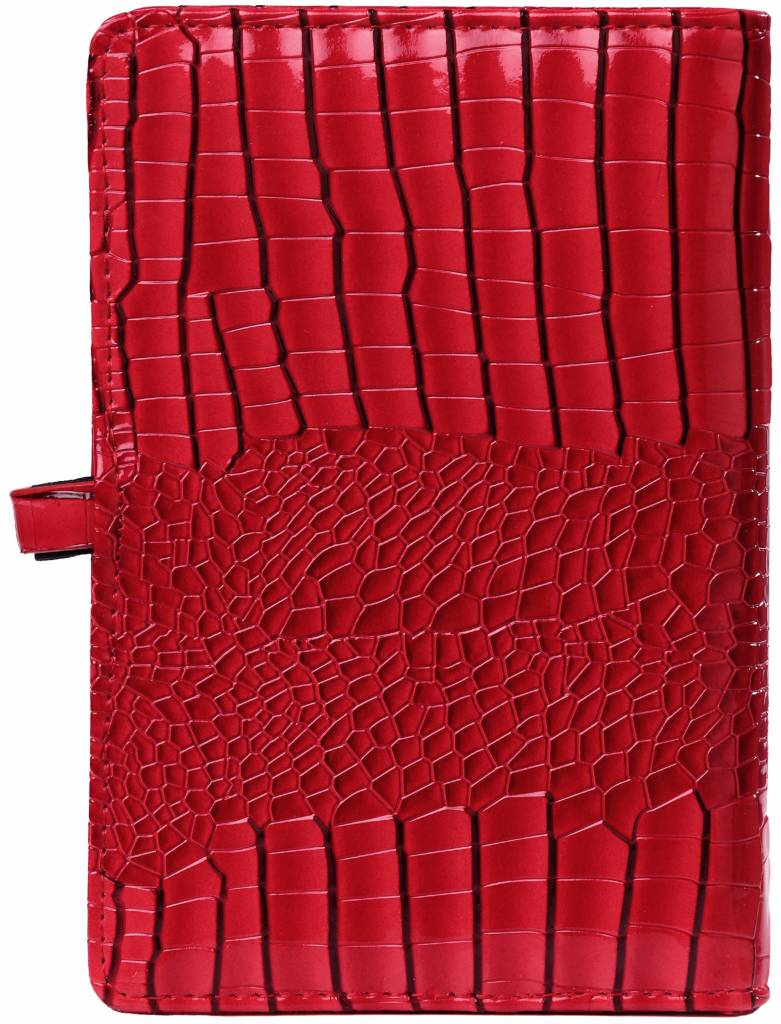 Kalpa 1111-62 Kalpa personal organiser gloss croco red + free agenda