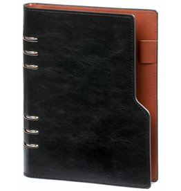 Kalpa 1016-60 Kalpa Compact A5 organiser pullup black + free agenda