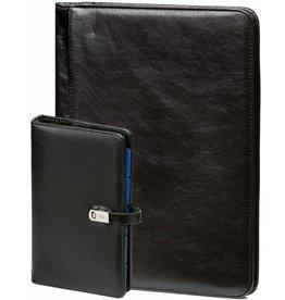Kalpa Kalpa A4 Alpstein Writing Case Zipper Organiser | 2018 & 2019 Filler Inside | Free Kalpa Personal Organiser - Black