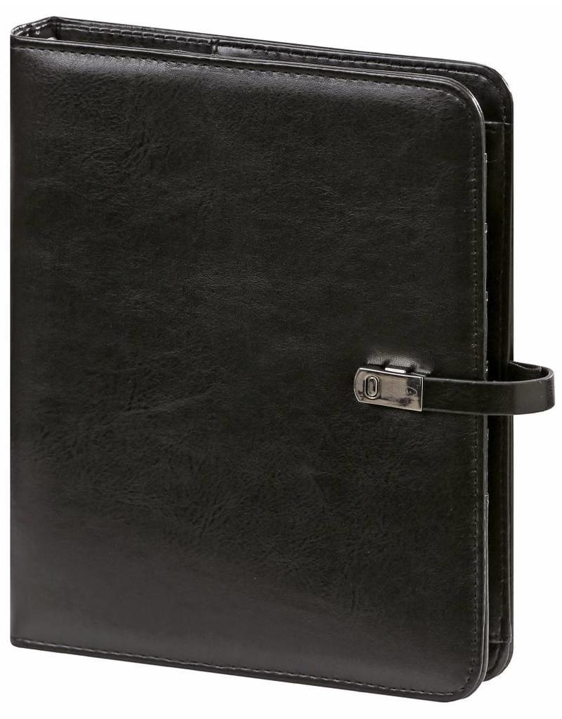 Kalpa Kalpa Alpstein writing case zipper and Kalpa A5 organiser pullup black + free agenda