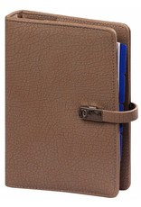 Kalpa 1111-64 Kalpa Personal Organisers Leather with Paper Filler Weekly Planner, Journal, Diary - Taupe