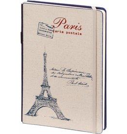 D8019-B A5 Notebook Paris 21 x 15 cm Blue 254 p