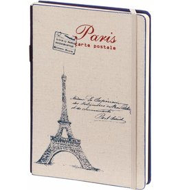 Dreamnotes D8019-B A5 Notebook Paris 21 x 15 cm Blue 254 p