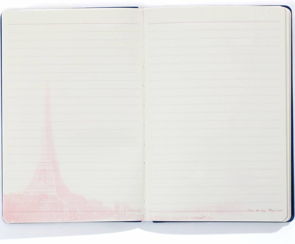 Dreamnotes A5 Notebook Paris 21 x 15 cm Blue 254 p
