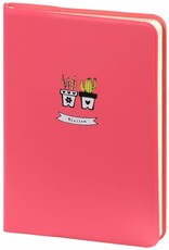 D6066-1 A6 Agenda-Notebook Blossom 17 x 12 cm Pastel Pink 226 p