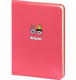 D6066-1 A6 Agenda-Notebook Blossom 17 x 12 cm Pastel Pink 226 p