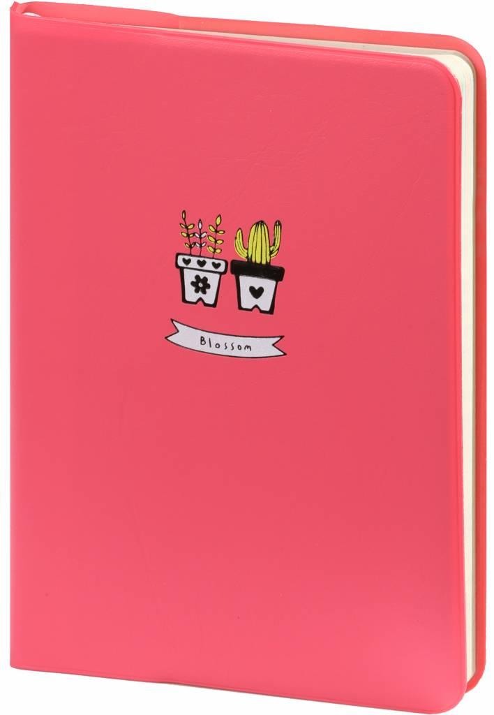 Dreamnotes D6066-1 A6 Agenda-Notebook Blossom 17 x 12 cm Pastel Pink 226 p