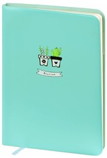 Dreamnotes A6 Agenda-Notebook Blossom 17 x 12 cm Sea Blue 226 p