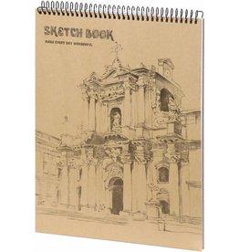 D5052-1 A4 Sketchbook Wonderful 36 x 25 cm 50 p