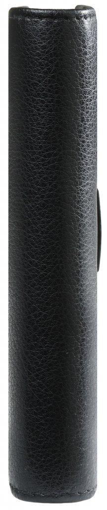 Kalpa 1311-Kz Pocket organizer Keta black  leather + free agenda