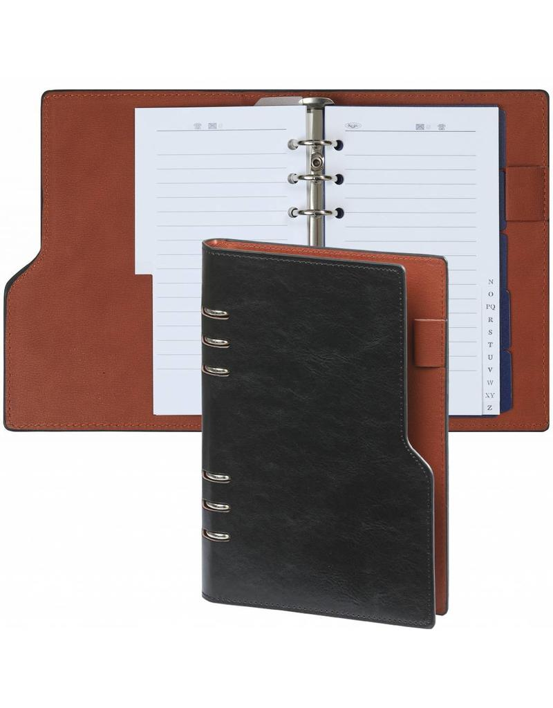 Kalpa 1116-60 compact personal black pull-up organiser+ free agenda