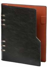 Kalpa 1116-60 compact personal black pull-up organiser+ free agenda