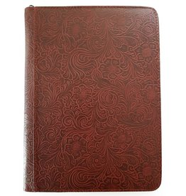 Kalpa 2400-48 Kalpa Alpstein writing case zipper  flowergarden bordeaux