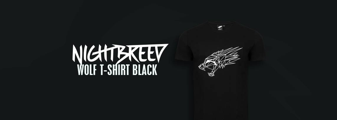 Nightbreed Wolf T-shirt Black