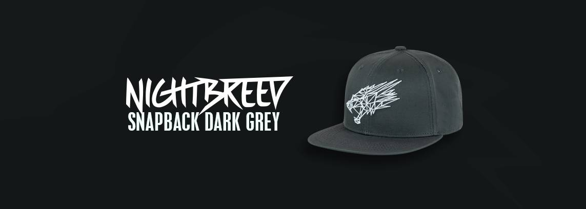 Nightbreed Snapback Dark Grey