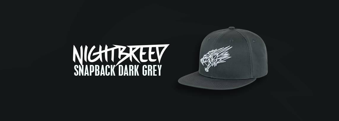 Nightbreed Snapback Dark Grey