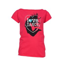"Papillon T-shirt ""Love Dance"""