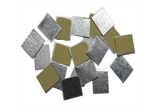 Z Palette - 15130151 30 Vierkante metalen stickers