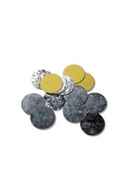 Z Palette - 15130154 Z Palette Round Metal Stickers 30 stuks