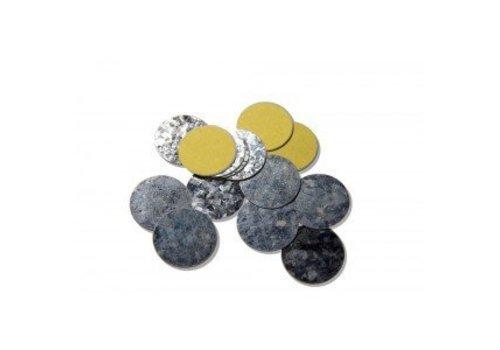 Z Palette - 15130151 Round Metal Stickers 30 stuks