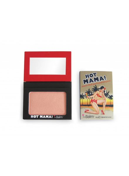TheBalm The Balm Hot Mama Beautiful Peach Pink Blush