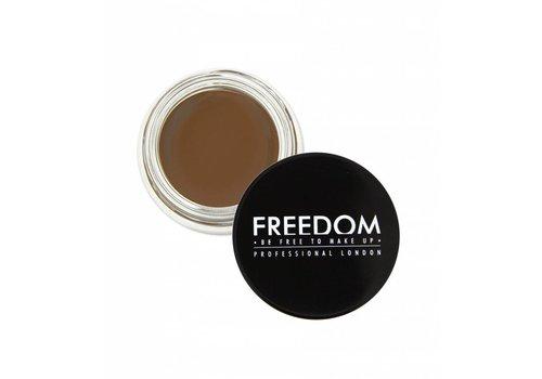 Freedom Makeup London Brow Pomade Caramel Brown