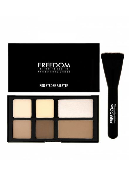 Freedom Makeup London Freedom Pro Strobe Palette With Brush