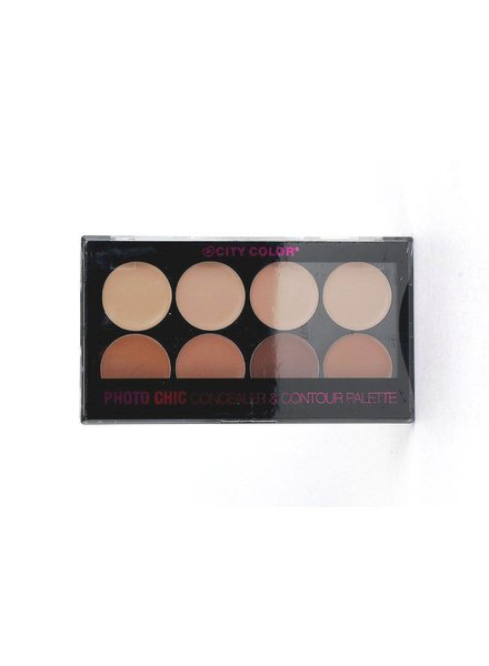 City Color City Color Photo Chic Contour & Concealer Palette