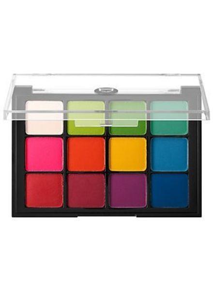 Viseart Viseart 12 Eyeshadow Palette 08 Bright Editorial