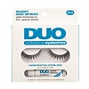 DUO DUO Professional Eyelashes D14 Short and Spiked