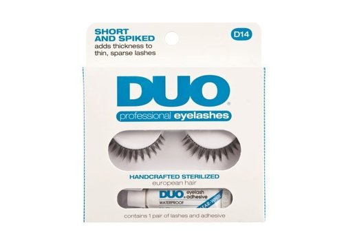 DUO Lashes D14 Short and Spiked