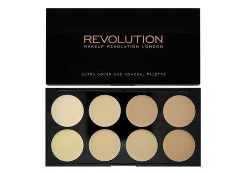 Makeup Revolution Cover and Concealer Palette Light