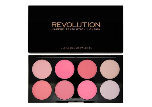 Makeup Revolution Blush & Contour Palette All about Pink