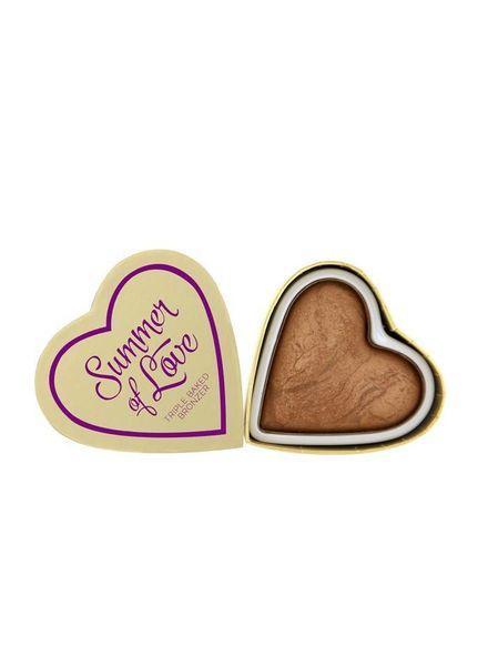 I Heart Makeup I Heart Makeup Blushing Hearts Bronzer Love hot summer