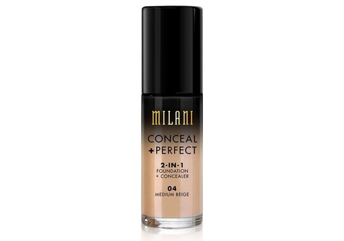 Milani 2-in-1 Foundation and Concealer Medium Beige