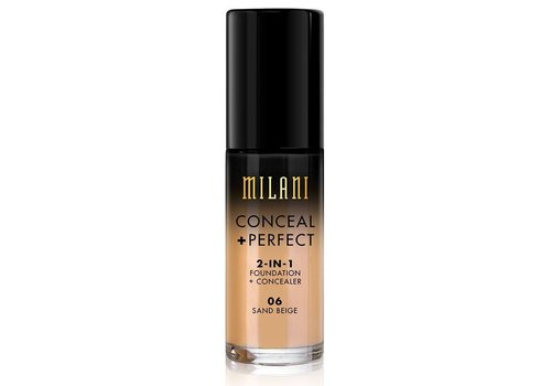 Milani 2-in-1 Foundation and Concealer 06 Sand Beige