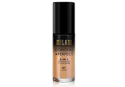 Milani 2-in-1 Foundation and Concealer 07 Sand