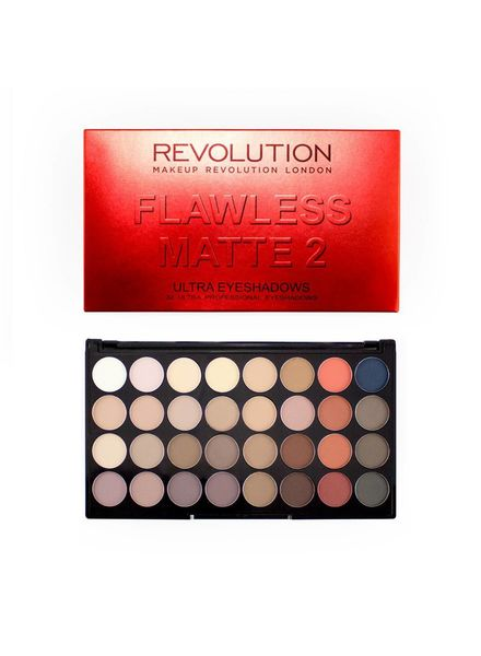 Makeup Revolution Makeup Revolution Ultra 32 shade Eyeshadow Flawless Matte 2