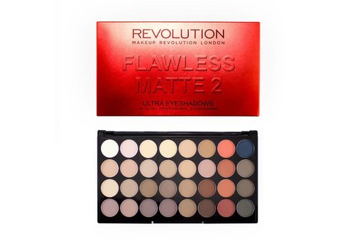 Makeup Revolution Ultra 32 Eyeshadow Palette Flawless Matte 2