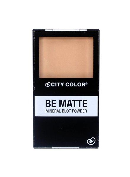 City Color City Color Be Matte Mineral Blot Powder