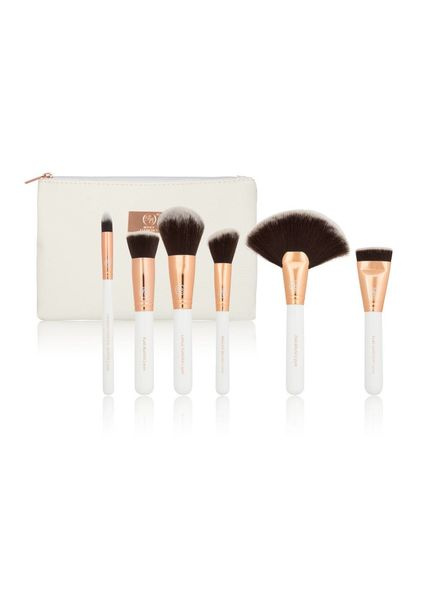 Boozy Cosmetics Boozy Cosmetics Rose Gold BoozyBrush 6 pc Advanced Face Set