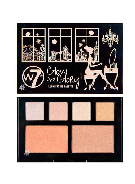 W7 W7 Glow for Glory Illuminating Palette