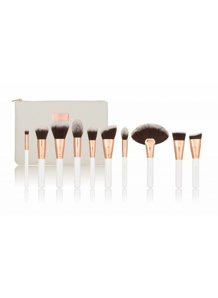 Boozy Cosmetics Boozy Cosmetics Rose Gold BoozyBrush 10 pc Deluxe Face Set