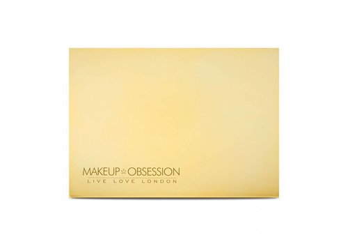 Makeup Obsession Medium Empty Palette Gold