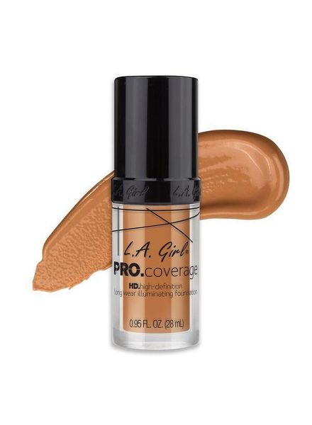 LA Girl Cosmetics LA Girl Pro Coverage HD Liquid Foundation Tan