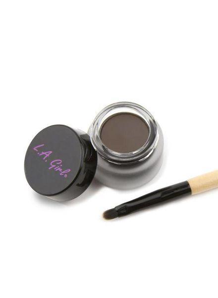 LA Girl Cosmetics LA Girl Gel Liner Kit Dark Brown