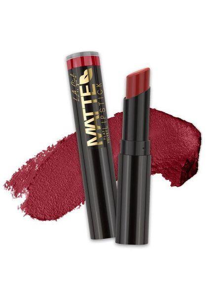 LA Girl Cosmetics LA Girl Matte Flat Velvet Lipstick Bite Me