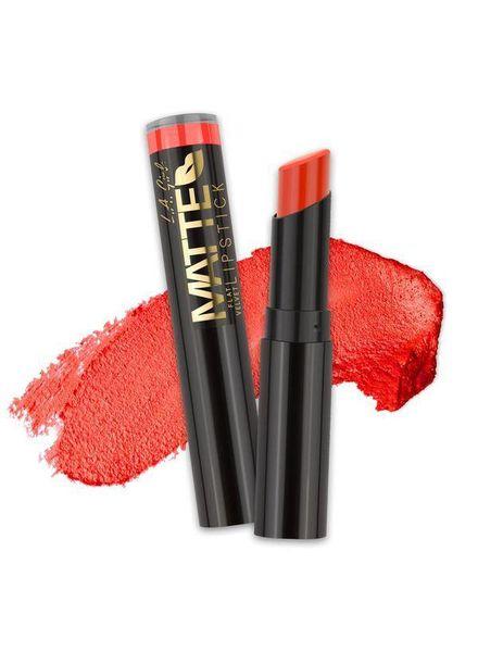 LA Girl Cosmetics LA Girl Matte Flat Velvet Lipstick Frisky
